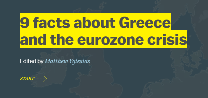9 facts about Greece and the eurozone crisis