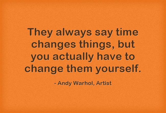 Warhol – Time Changes