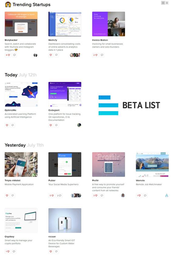 Beta List