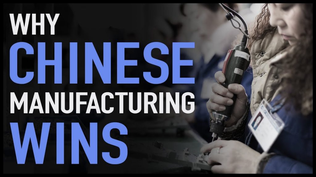 Why Chinese Manufacturing Wins | Wendover