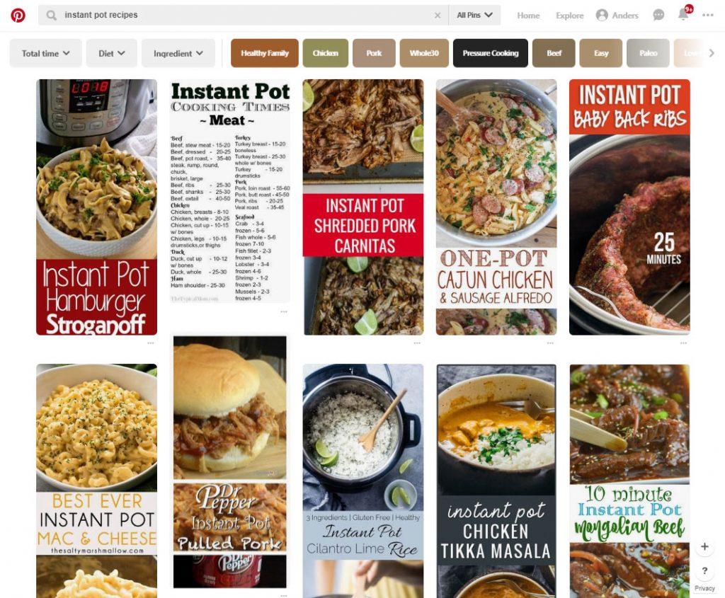 Instant Pot Recipes | Pinterest