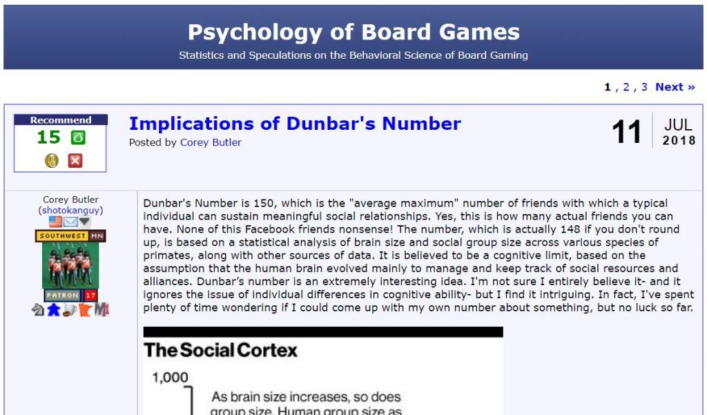 Psychology of Board Games | BGG