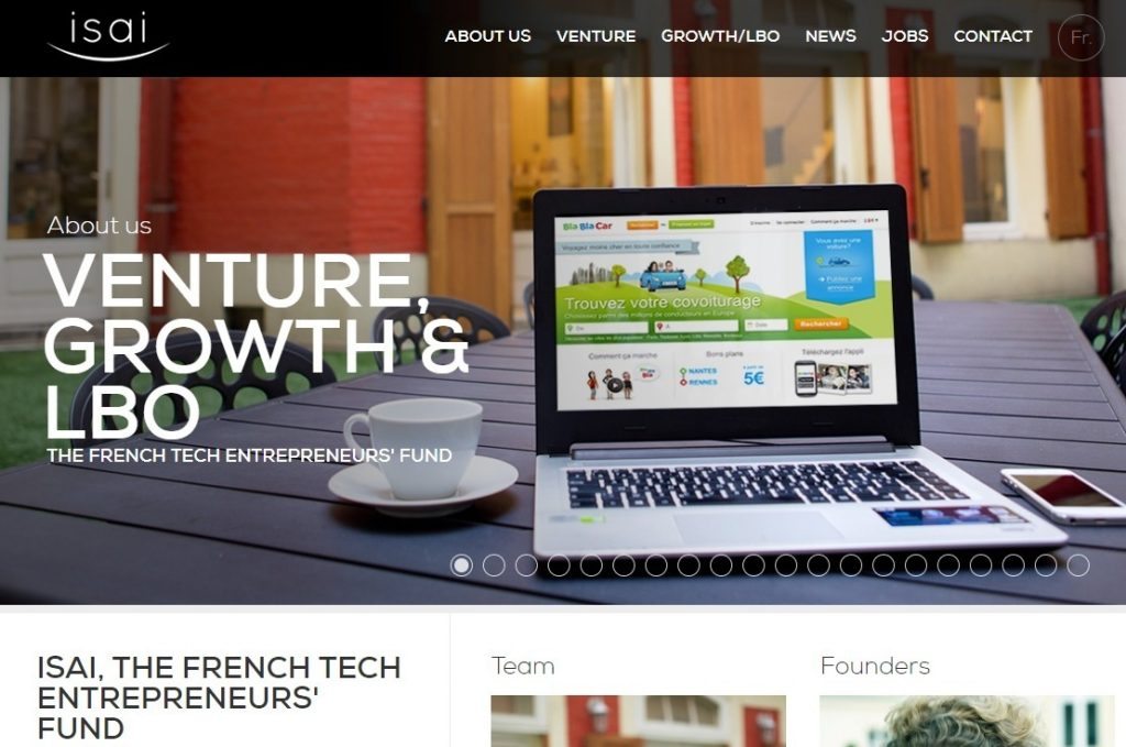 ISAI French Tech Entrepreneurs Fund
